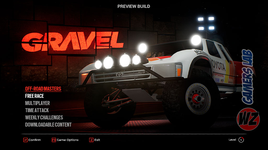Gravel: la experiencia todoterreno definitiva, ya está disponible y te lo contamos en WZ Gamers Lab - La revista de videojuegos, free to play y hardware PC digital online