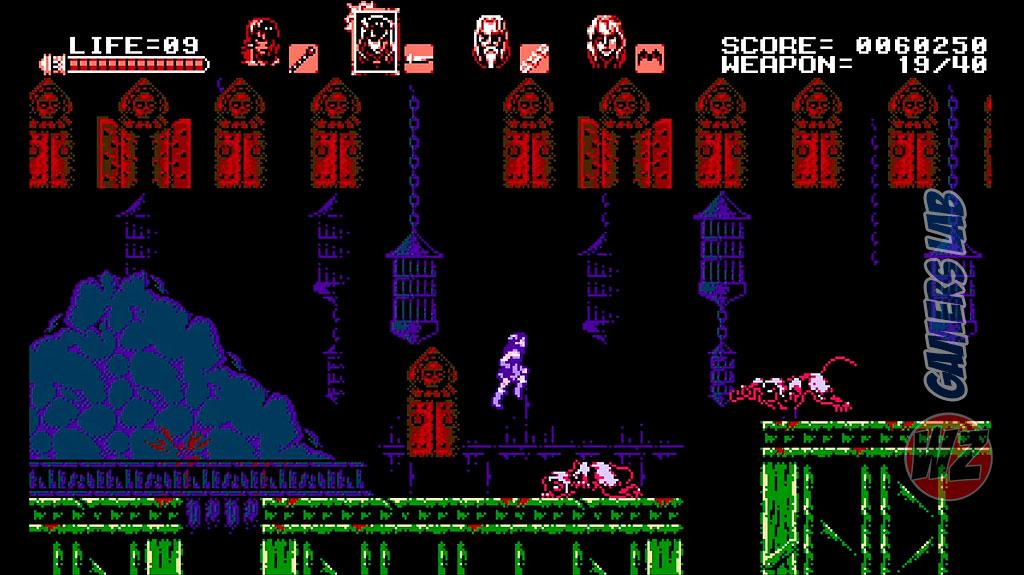 Bloodstained Curse of the Moon llega a Steam y te lo contamos en WZ Gamers Lab - La revista digital online de videojuegos free to play y Hardware PC
