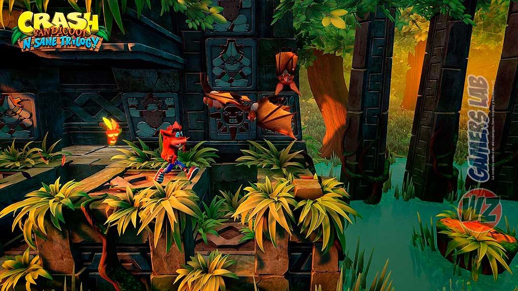 Crash Bandicoot™ N. Sane Trilogy disponible en WZ Gamers Lab - La revista digital online de videojuegos free to play y Hardware PC