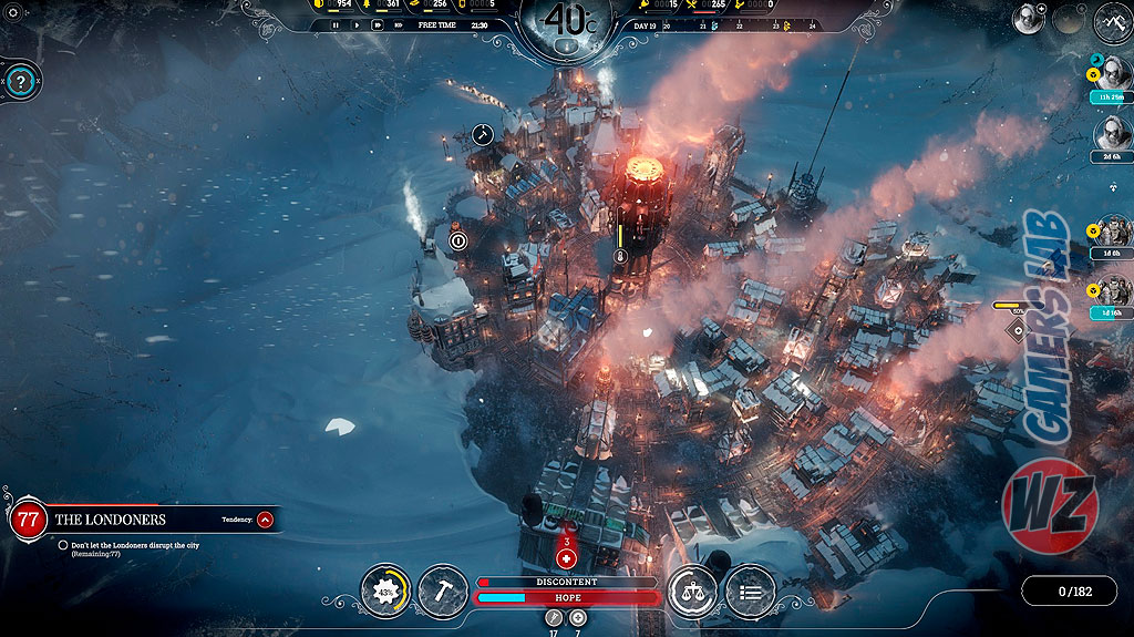 Frostpunk el juego de supervivencia de una sociedad disponible en WZ Gamers Lab - La revista de videojuegos, free to play y hardware PC digital online