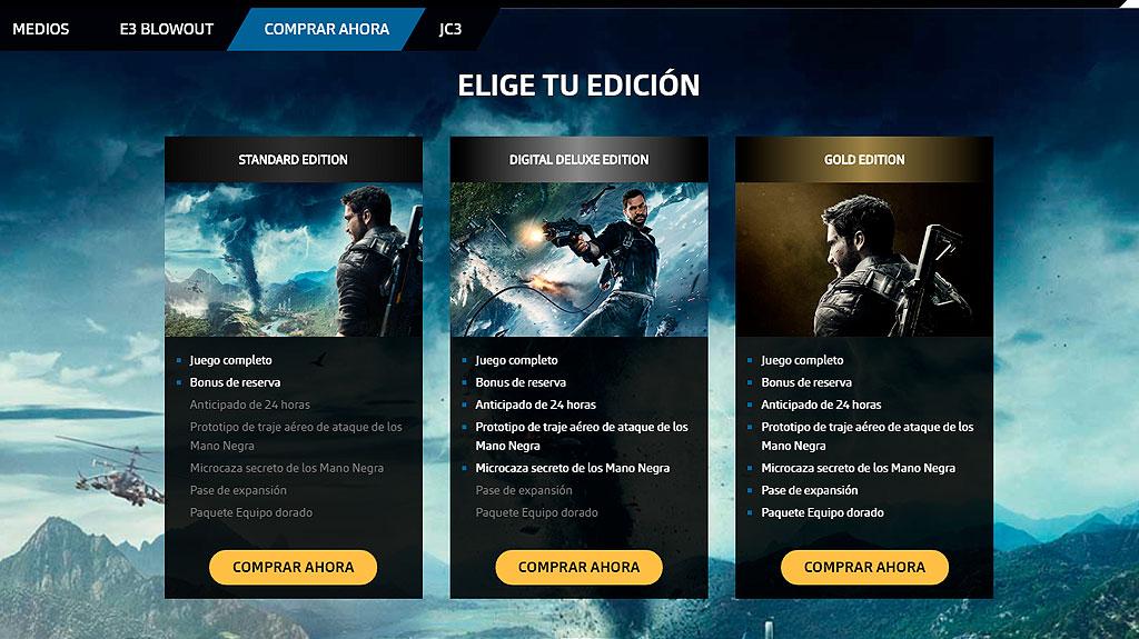 Rico Rodriguez llega a Solís con Just Cause 4 en WZ Gamers Lab - La revista digital online de videojuegos free to play y Hardware PC