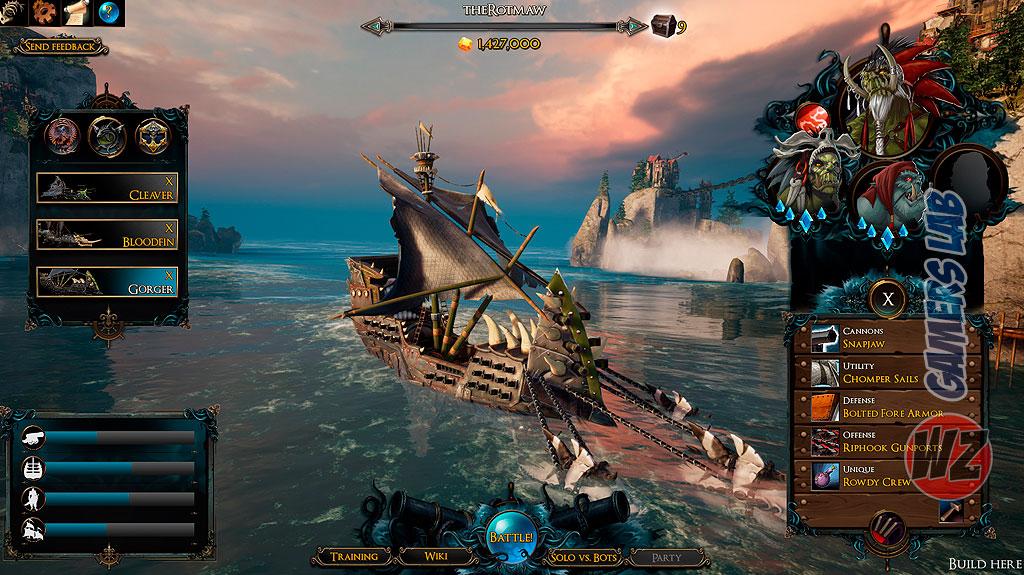 Maelstrom llega a Steam en acceso anticipado. Un battleroyal con barcos y te locontamos en WZ Gamers Lab - La revista de videojuegos, free to play y hardware PC digital online