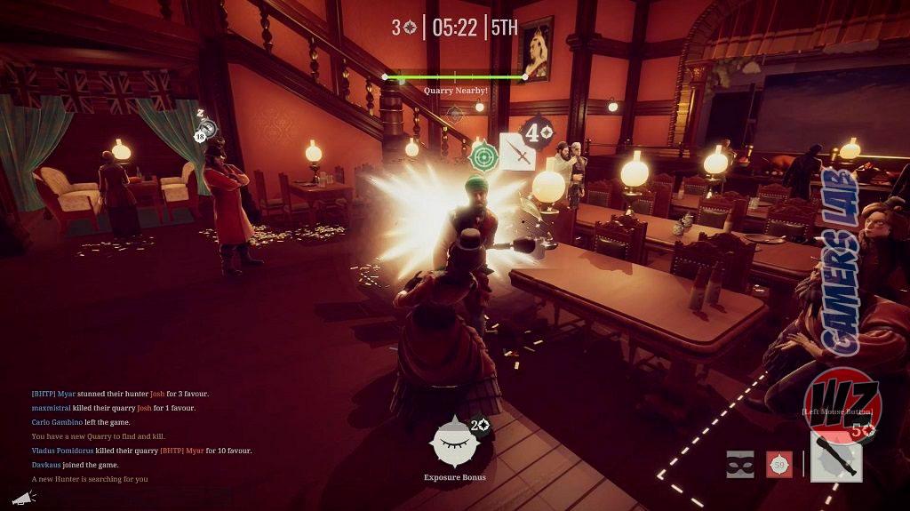 Murderous Pursuit disponible y te lo contamos en WZ Gamers Lab - La revista de videojuegos, free to play y hardware PC digital online