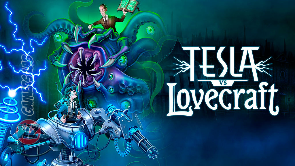 Lucha con la ciencia de tu parte en Tesla vs Lovecraft en WZ Gamers Lab - La revista de videojuegos, free to play y hardware PC digital online