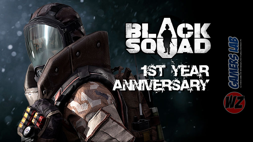Black Squad celebra su primer aniversario en WZ Gamers Lab - La revista digital online de videojuegos free to play y Hardware PC