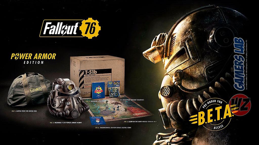 En octubre llega la beta de Fallout 76 en WZ Gamers Lab - La revista digital online de videojuegos free to play y Hardware PC