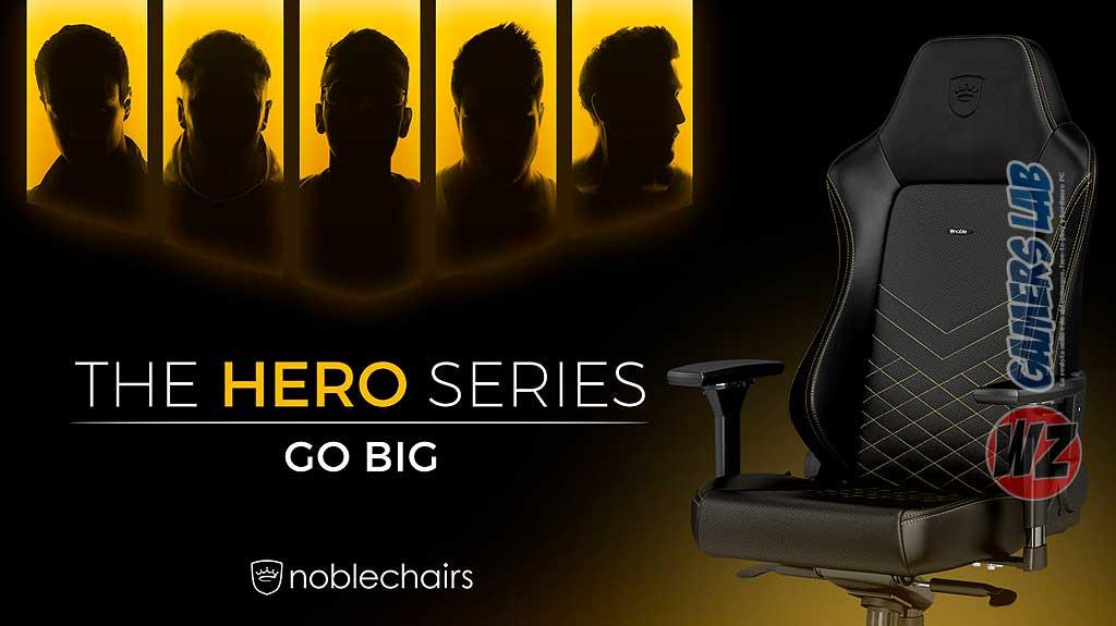 Noblechairs De Revista Gamers Presenta Hero – Su Serie Wz Lab La A354RjL