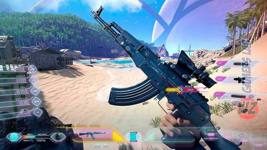 Islands of Nyne: Battle Royale recibe buenas criticas en WZ Gamers Lab - La revista digital online de videojuegos free to play y Hardware PC