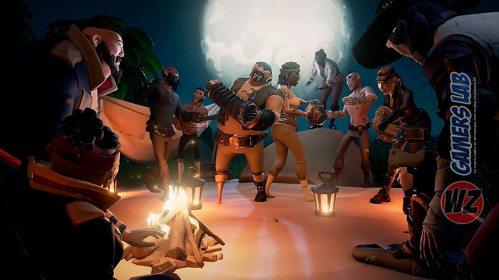 Sea of Thieves alcanza los 5 millones de usuarios en WZ Gamers Lab - La revista digital online de videojuegos free to play y Hardware PC
