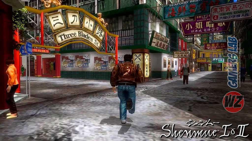 Vuelven Shenmue I & II remasterizados en WZ Gamers Lab - La revista digital online de videojuegos free to play y Hardware PC