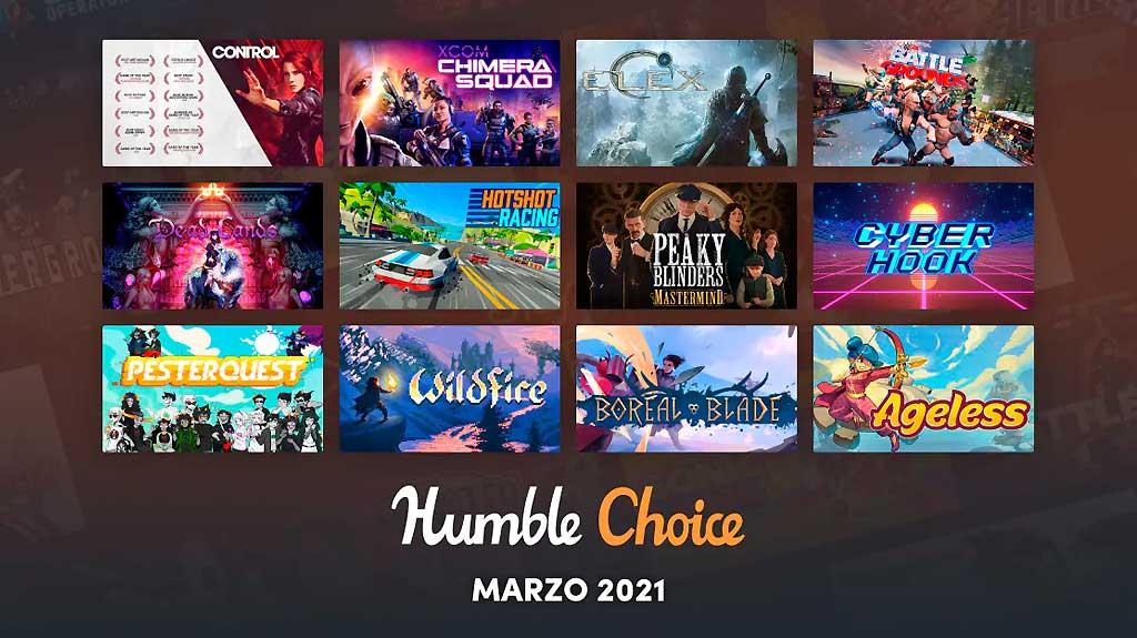 Humble Choice marzo 2021 en WZ Gamers Lab - La revista de videojuegos, free to play y hardware PC digital online